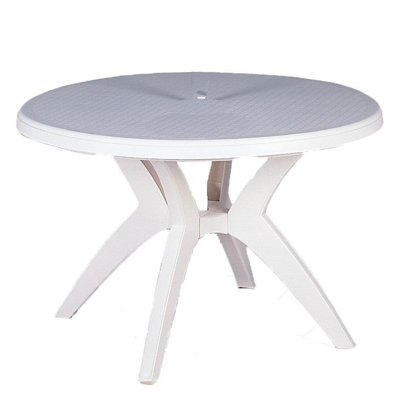 Round Plastic Outdoor Patio Table