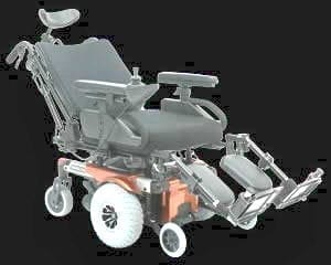 Electric Wheelchair -Power Recline Wide