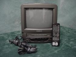 "TV - VCR Combo 9"", Portable TV-VCR Combo"