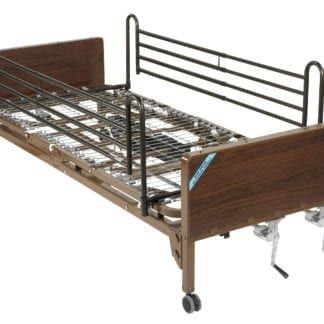 Drive- Manual Hospital Bed 15003BV-FR Full Rails
