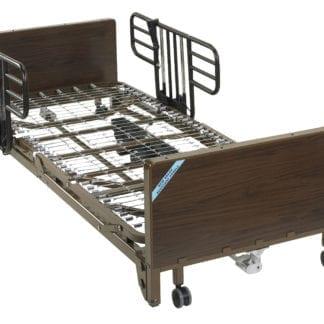 Drive- Full Electric Ulta Light Plus Low Hospital Bed 15235BV-HR Half Rails