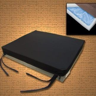 """Mason- Gel-U-Seat Cushion 16""""x16""""x3"""" with Nylon Cover 8046-1"""
