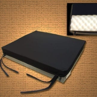 "Mason- Convo-Gel Bariatric 26""x18""x3""Cushion, Convoluted Foam with Nylon Cover 8049-U9"