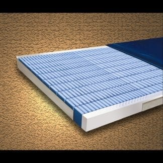"""Mason- Multi-Ply Shearcare500 Pressure Reducing 36""""x80""""x6"""" Mattress with Fire Barrier, 670 Individual Cells and Side Rails. 500SC-2"""