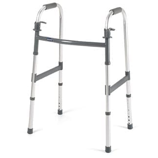Invacare- I-Class Paddle Walkers Single-Pack Dual Release Paddle Adult Walker 6291-1