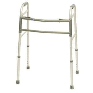 Invacare- Blue Release Dual Bariatric Adult Walker 6441A-1