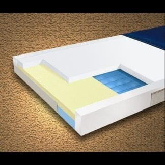 "Mason- Multi-Ply ShearCare1500 Pressure Reducing 48""x80""x6"" Mattress with Fire Barrier. 1500SC-48"