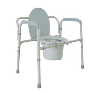 Temcare- Bariatric Folding Commode