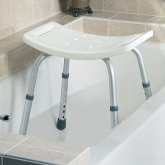 Medline- Guardian Shower Chair Knockdown Without Back G30403H