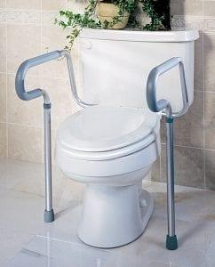 Medline- Guardian Signature Toilet Saftey Rails G30300H