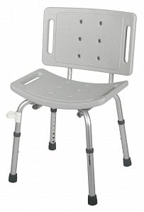 Medline- Guardian Shower Chair with Back G30400-4H
