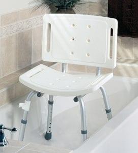 Medline- Guardian Basic Shower Chair with Back G30402H