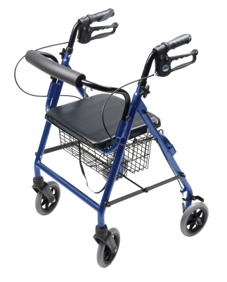 GF- Lumex Walkabout Four-Wheel Hemi Rollator RJ4302B