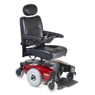 "Invacare- Pronto M51 Power Chair 16""W x 16""D, Captain's Seat M51PSR16(R or B)"