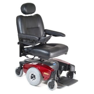 "Invacare- Pronto M51 Power Chair 20""W x 18""D Captain's Seat. M51PSR20(R or B)"