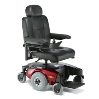"Invacare- Pronto M51 Power Chair 18""W x 18""D, Captain's Seat. M51PSEMI(RED or BLUE)"