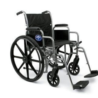 Medline- K1 Basic Wheelchair DLA, S/A FT. MDS806250EE
