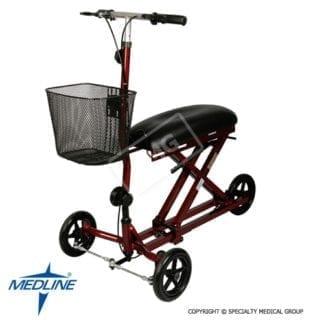 Medline- Weil Knee Walker 300LB Cap MDS86000