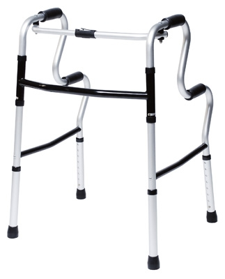 GF- Lumex UpRise Onyx Folding Walker 700175CR