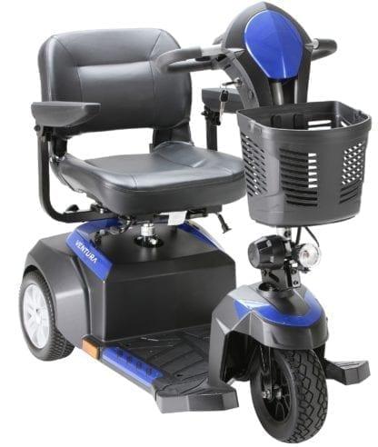 "Drive- VENTURA 3 18"" Electric Scooter 3 Wheel Folding Seat"
