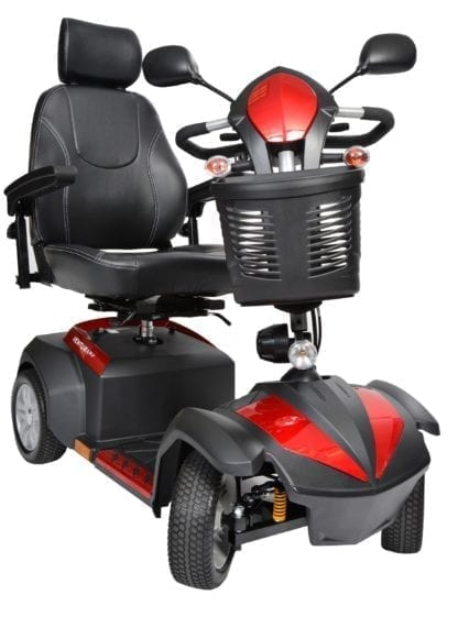 "Drive- VENTURA 4 DLX 18"" Electric Scooter Deluxe 4 Wheel"