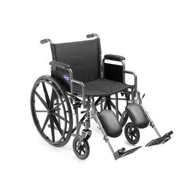 "Invacare- Veranda Wheelchair 16""x16"" Frame with Desk Length Removable Arm and Footrest. V16RFR"