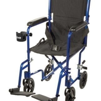 "Temcare- 19"" Aluminum Transport Chair"