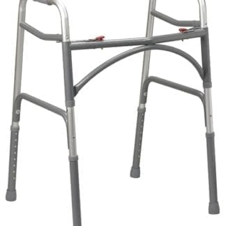Temcare- Two Button Bariatric Aluminum Folding Walker