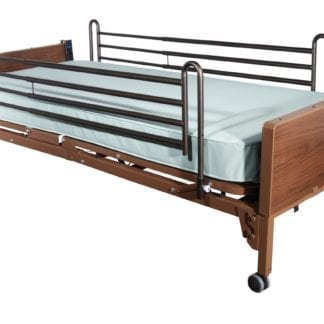 Heavy Duty, Electric Hospital Bed Rental With Sides (Twin Size)