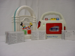 Disney Cassette Player w/ Tapes