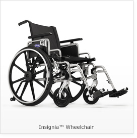 """Invacare- Tracer EX2 Wheelchair 20""""x16"""" Frame with Removable Fixed Height Desk Length Arm TREX20RP"""