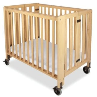 Full-size Crib Rental (Natural Finish)