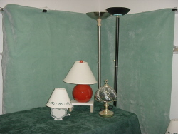 Garment Racks, Lamps & Appliances