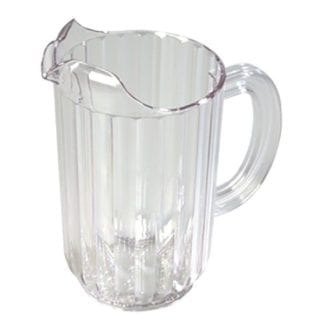 Pitcher, Glass Water Pitcher