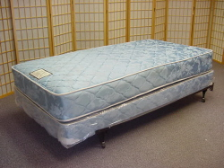 Twin size bed , Twin Box Spring and Frame