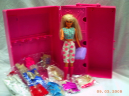 Barbie Doll Set w/ Clothes
