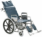 Wheelchair- Reclining Wide, Wheelchair Rental