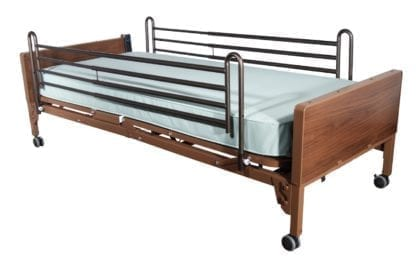 Electric Hospital Bed Rental With Sides (Twin Size)