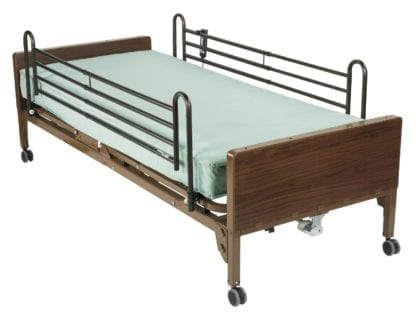 Bariatric, Electric Hospital Bed Rental With Sides (Full Size)