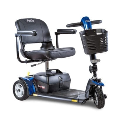 Pride- Go Go Sport Scooter - 3 Wheel